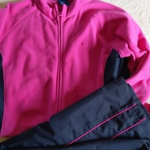 Reebok exercise pants and jacket